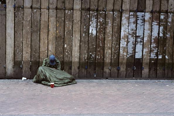 Homeless in Edinburgh. Picture: Francois LE DIASCORN/Gamma-Rapho via Getty Images.