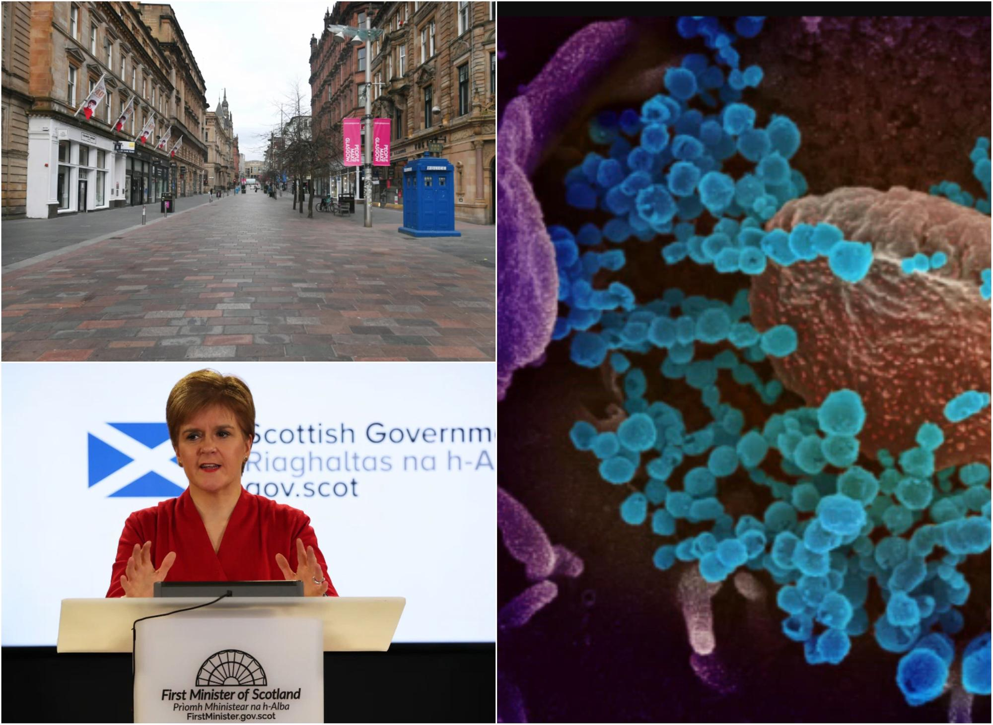 Coronavirus in Scotland LIVE: 47 deaths and 1,563 positive cases across the country