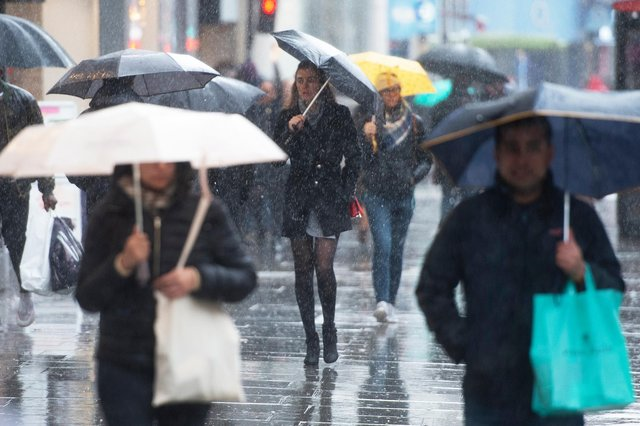 One of the wettest Mays on record was an unfortunate blow for the high street. Picture: David Mirzoeff/PA Wire