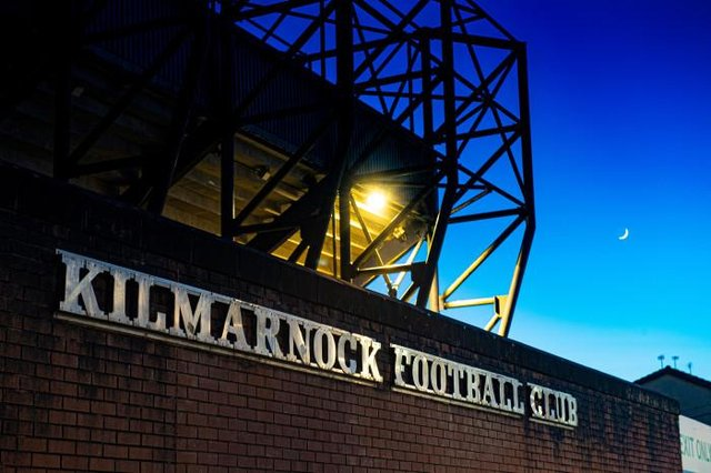 A general view of Rugby Park, home of Kilmarnock FC, on April 25, 2020, in Kilmarnock, Scotland.  (Alan Harvey / SNS Group)