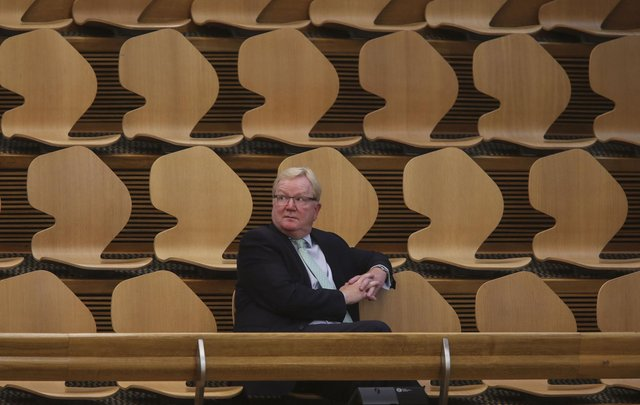 Former Scottish Conservative Leader Jackson Carlaw held on to his seat in Eastwood.