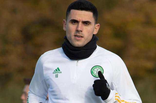 Neil Lennon should use the AC Milan game to give a first start to Tom Rogic [pictured)  in seven months (Photo by Craig Foy / SNS Group)