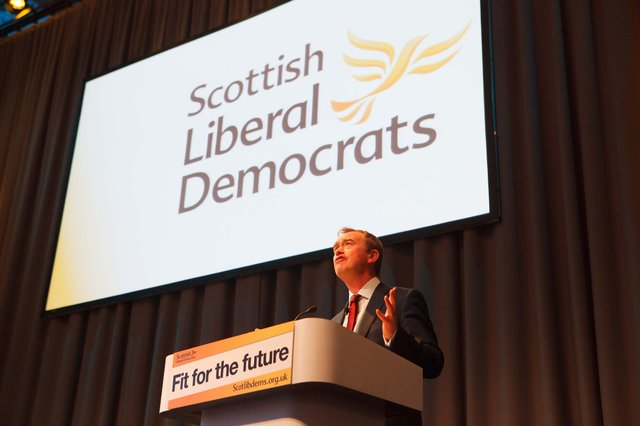The former Lib Dem leader claimed succeeding against the SNP would create a blueprint for beating the Conservatives