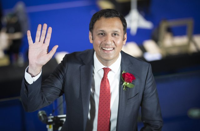 Scottish Labour leader Anas Sarwar at the count for the Scottish Parliamentary Elections at the Emirates Arena, Glasgow. Picture: PA