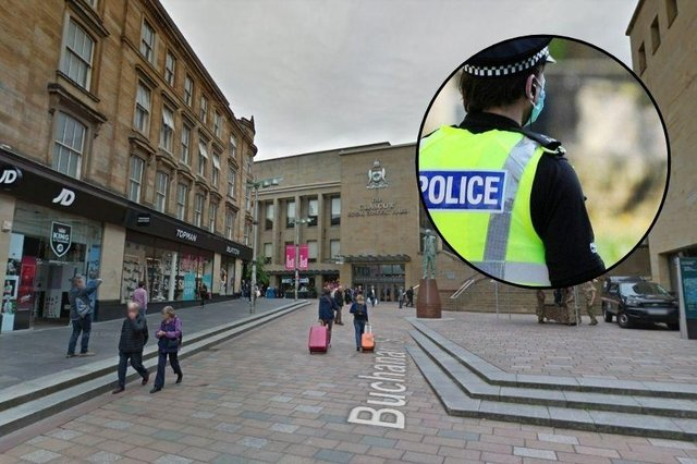 A 46-year-old man was attackednear JD Sports on Buchanan Street at around 6.40pm on Saturday, July 3.