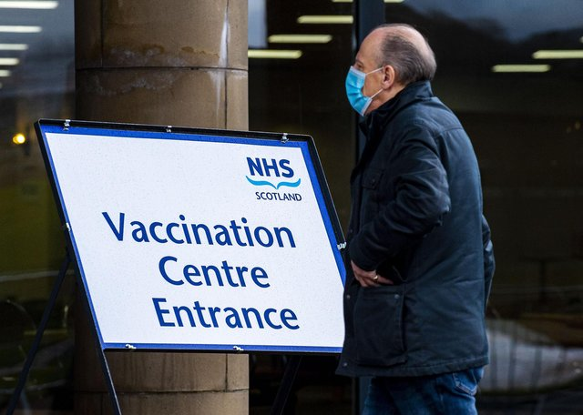 The latest official figures show 25.5 per cent of people in Scotland have received a first dose of vaccine against Covid-19, a slightly higher proportion of the population than the UK average of 25.3 per cent