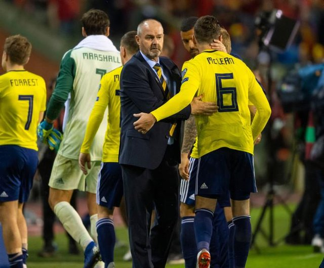 Scotland manager Steve Clarke has sympathised with Kenny Mclean afetr news of his injury sustained in Norwich City's title-winning season. (Picture: SNS)