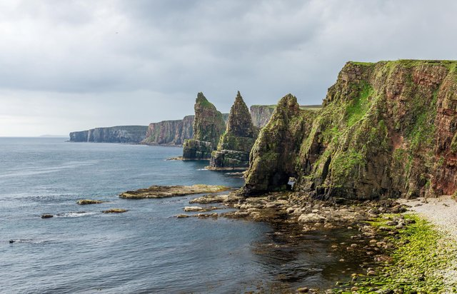 Duncansby Head near John O' Groats is one of the destinations promoted by North Coast 500 to encourage motorists to venture off the beaten track this summer. PIC: Adam Court/Flickr/Creative Commons.