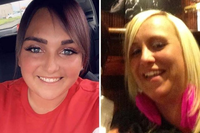 Emma Robertson Coupland (right), and her daughter, Nichole Anderson (left) were killed in linked attacks in Kilmarnock last week.