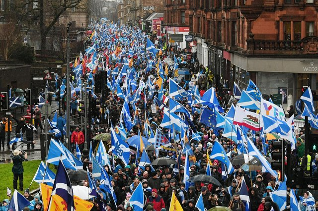 Only a quarter of Scots have said they want a second Scottish independence referendum in the next year, according to a new poll
