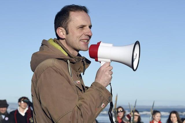 Stephen Gethins at the St Andrews Climate March in 2019 PIC: Lisa Ferguson / JPI Media