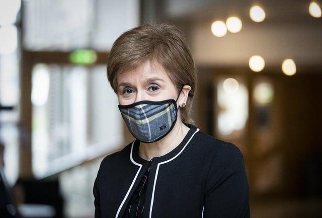 First Minister of Scotland, Nicola Sturgeon (Photo: Jane Barlow).