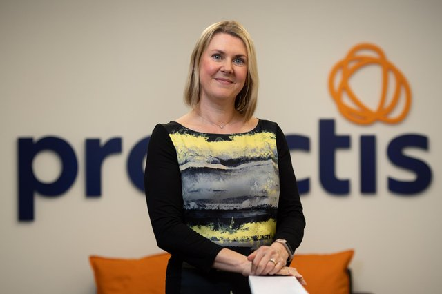 Debbie Mackenzie, managing director at Proactis: 'These last few months have been very exciting for Proactis in Aberdeen.' Picture: Richard Frew Photography