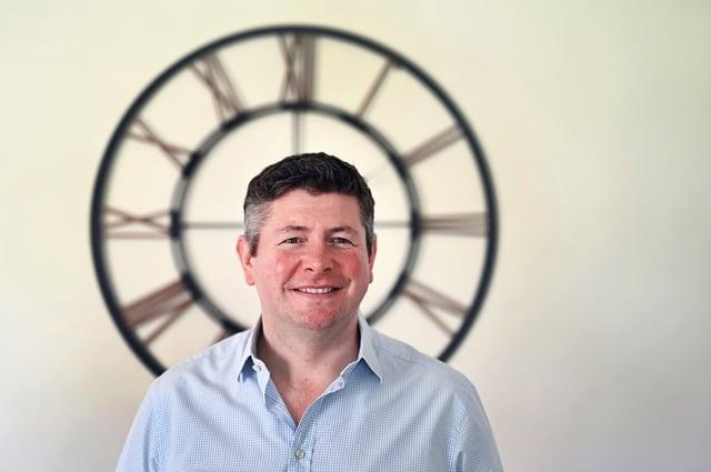 Jamie Livingston, founding director of Livingston James Group. Picture: John Devlin