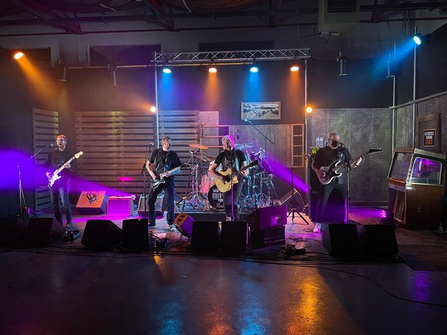 Big Country perform live-streamed concert set at Stream Digital's state-of-the-are facility