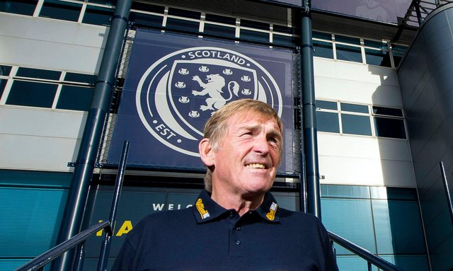 Kenny Dalglish will be right behind Scotland against England.