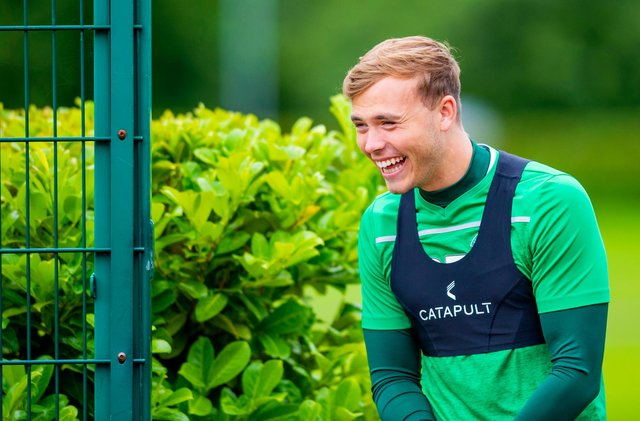 Hibernian defender Ryan Porteous came through his first full 90 minutes of action since injuring his knee in January.