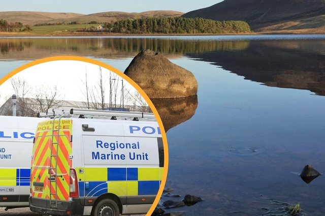 Police Scotland's Dive and Marine Unit have been at the scene after officersconfirmed that a recovery operation is underway followingreports of concerns for a man in the water at Threipmuir Reservoir.
