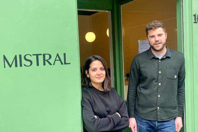 Julie Di Toro and her partner, Sam Barker, took out a Start Up Loan in two parts in August and September 2020 to launch Mistral, an independent wine shop based in Leith.