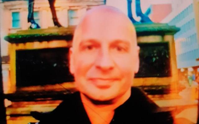 Graham Wallace, 47, hasn't been seen since Saturday.