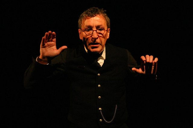 Peter Arnott's play The Signalman, which starred Tom McGovern, is a triple awards winner this year. Picture: Leslie Black