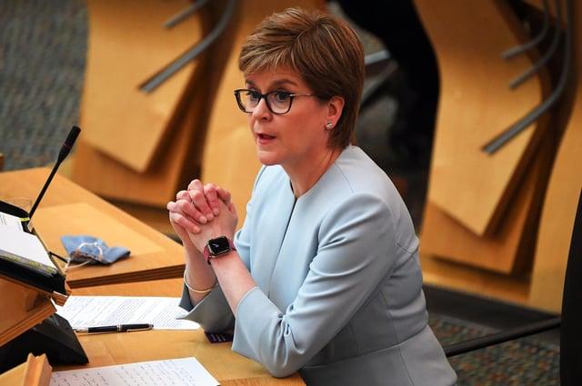 Nicola Sturgeon announced the travel ban last Friday