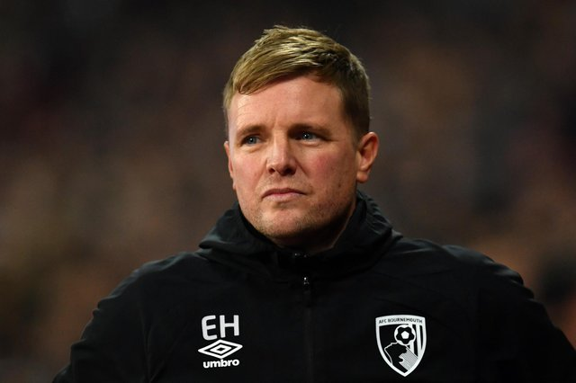 Eddie Howe has turned down the chance to take the reins at Celtic