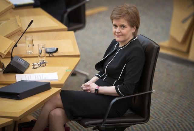 Nicola Sturgeon has survived a vote of no confidence.