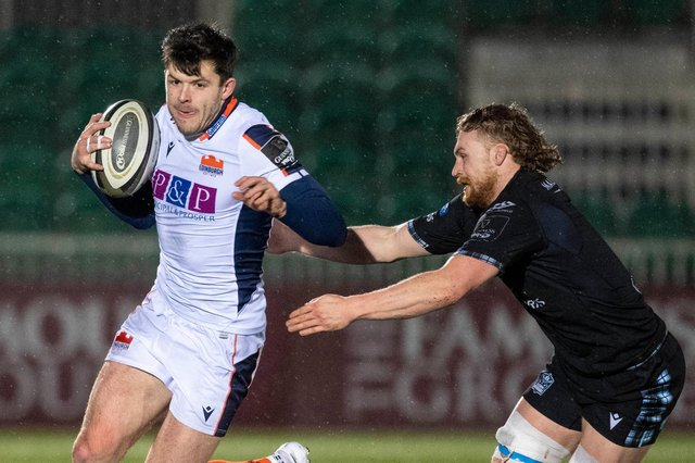 Edinburgh's Blair Kinghorn will play at stand-off against Racing 92. Picture: Ross Parker/SNS