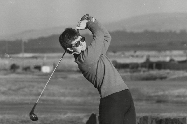 Jane Connachan, a prolific winner as an amateur before landing five Ladies European Tour victories, in action at Turnberry. Picture: ANL/Shutterstock