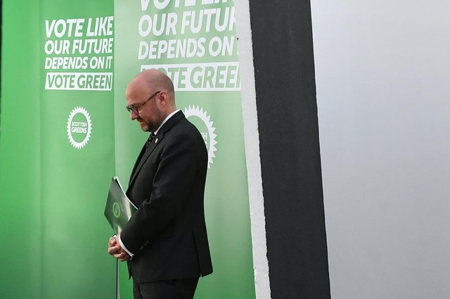 Scottish Greens co-leader Patrick Harvie is a power behind SNP throne, reckons reader (Picture: John Devlin)