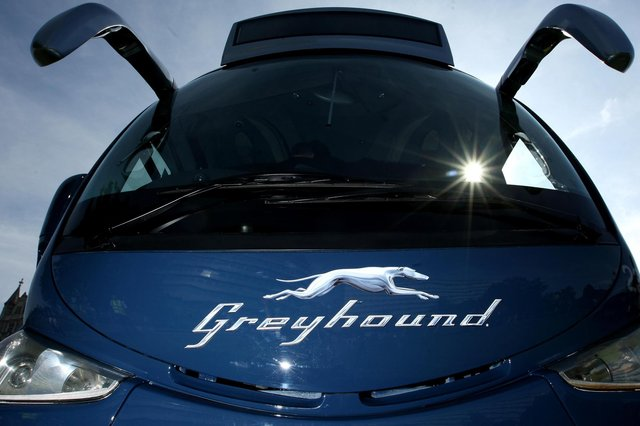 FirstGroup, the Aberdeen-headquartered transport operator, is restructuring the iconic Greyhound coach business. Picture: Dominic Lipinski/PA