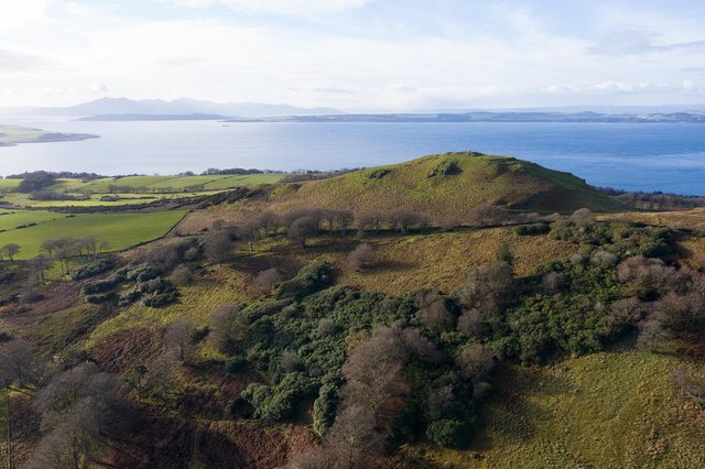 A new forest with 200,000 trees is being created near the seaside town of Largs, on Scotland's west coast, to help tackle climate change and benefit wildlife