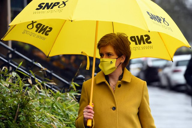 Nicola Sturgeon once asked to be judged on education and voters now have the chance to give their verdict (Picture: Andy Buchanan/pool/Getty Images)
