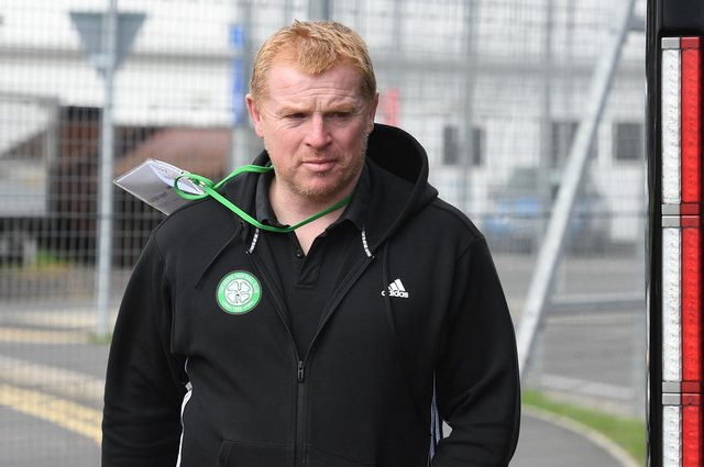 Celtic manager Neil Lennon was furious the team was leaked before Saturday's match with Rangers. Picture: SNS