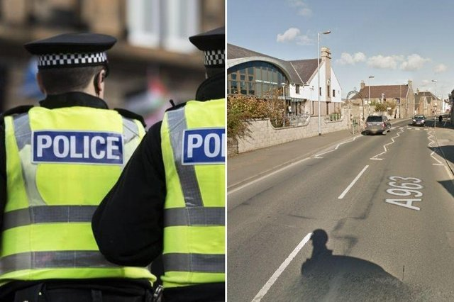 The crash happened on Junction Road, near the Orkney Library and Archive building in Kirkwall.