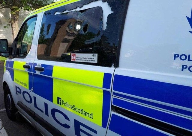 Police are searching for a driver who left a cyclist seriously injured in the road.