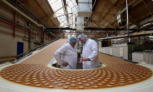 The owner of UK brands including McVities has announced plans to close its factory in the east end of Glasgow, putting nearly 500 jobs at risk. Picture: AFP via Getty Images