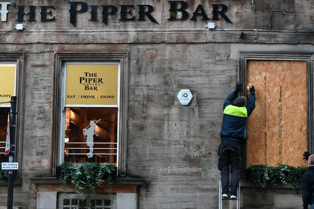 The Piper Bar in Glasgow is among the hundreds of pubs in Glasgow which have been forced to close during the ongoing coronavirus restrictions.