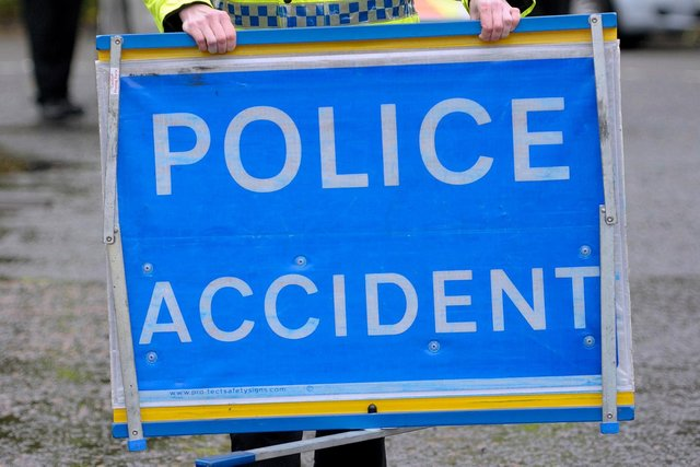 A man and two woman were airlifted to hospital after three cars were involved in a crash near Fort William.