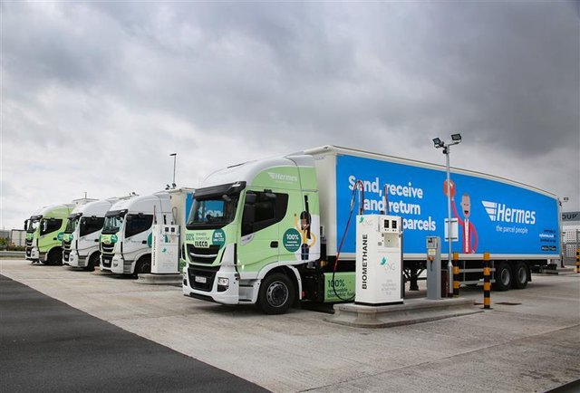 Scotland's first filling station offering 100 per cent renewable biomethane at the pumps is set to open up near Glasgow later this year