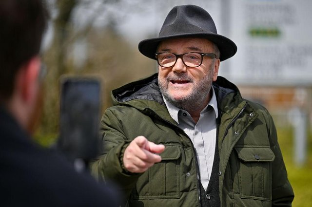 George Galloway has announced his intention to contest Jo Cox's former seat - against the murdered MP's sister, Kim Leadbeater.