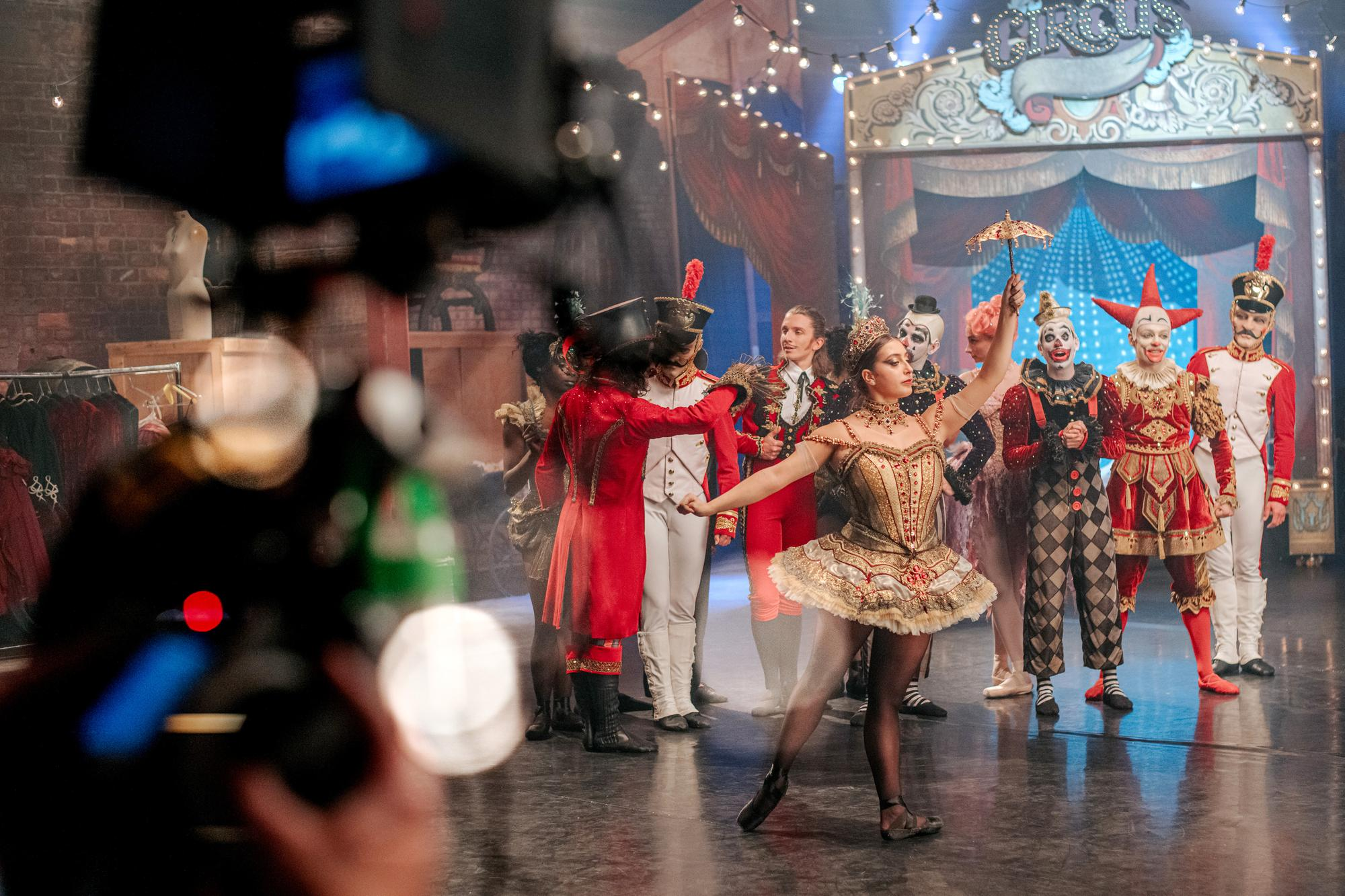 First look: Scottish Ballet to premiere a festive feature film just before Christmas