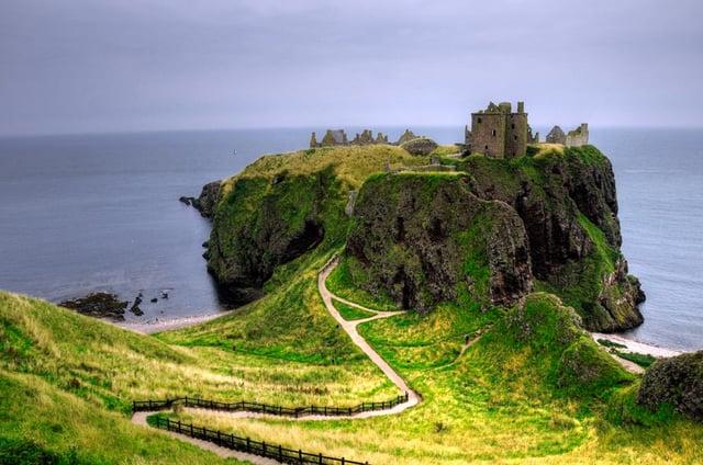 Dunnottar Castle near Stonehaven, Aberdeenshire. PIC: Creative Commons/Hossein Mansouri