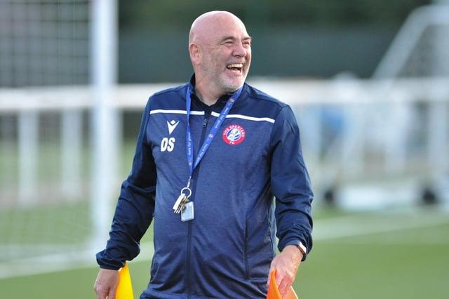 Douglas Samuel, chief executive of The Spartans Community Football Academy
