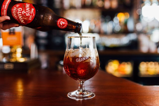 Innis & Gunn has grown to become one of the most familiar beer brands in Scotland, and beyond. Picture: Cameron James Brisbane