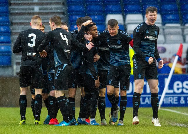 Rangers Colts reached the semi-final of last season's Challenge Cup. Picture: SNS