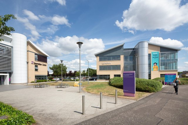 The portfolio comprises five office buildings spanning just under 92,000 square feet. Picture: McAteer Photograph.