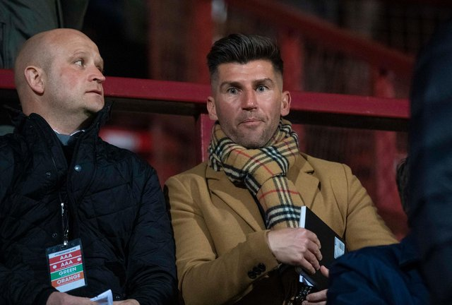 Mark Burchill could return to Celtic if Eddie Howe is appointed. Picture: SNS
