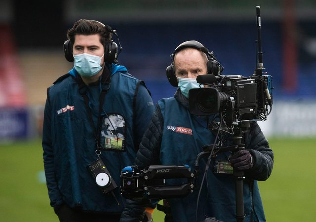 Sky Sports showed 41 of a possible 48 games from the Scottish Premiership. Picture: SNS